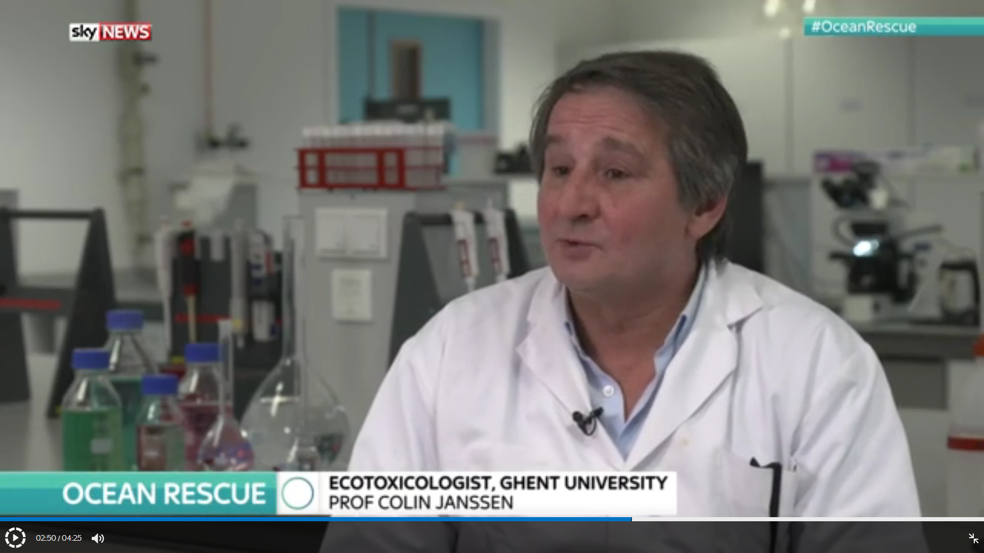 Media laboratory for environmental toxicology in addition the newspaper the telegraph wrote an article about microplastic pollution and refers to the conversation skynews had with prof janssen sciox Image collections